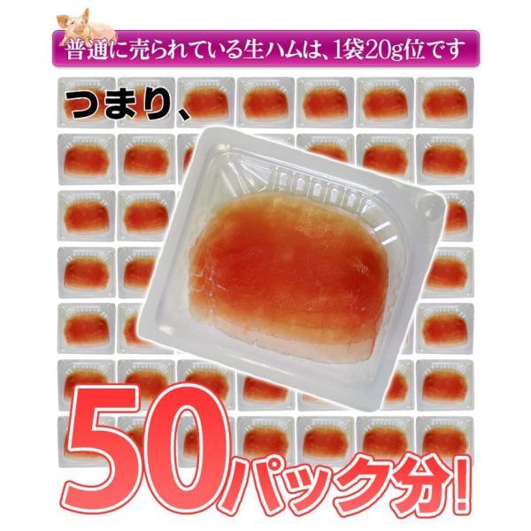 生ハム なまはむ 訳あり 切り落とし 送料無料 生ハムこま切り落とし 約500g×2P 1キロ 大容量 冷凍 おつまみ|tsukiji-ichiba2|03