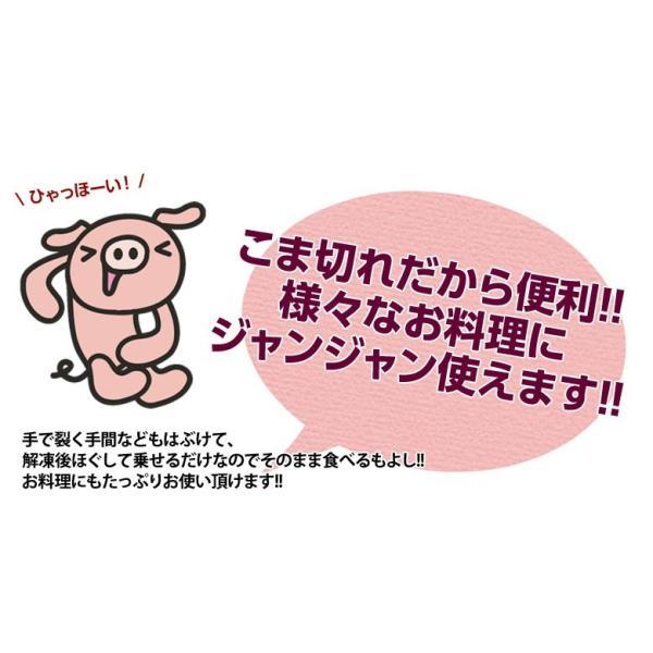 生ハム 訳あり 切り落とし 送料無料 生ハムこま切り落とし 約500g×2P 1キロ 大容量 冷凍 おつまみ  [同梱不可] tsukiji-ichiba2 09