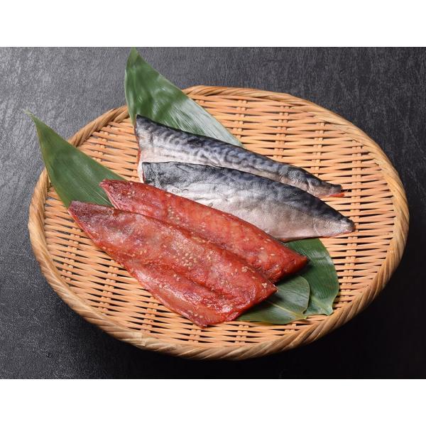 鯖 サバ さば みりん干し 総菜 骨取り済み 国産さばのさくらぼし 4枚入り×2パック (1枚あたり約95g) 真空パック おかず 干物 冷凍同梱可能 送料無料|tsukiji-ichiba2|05
