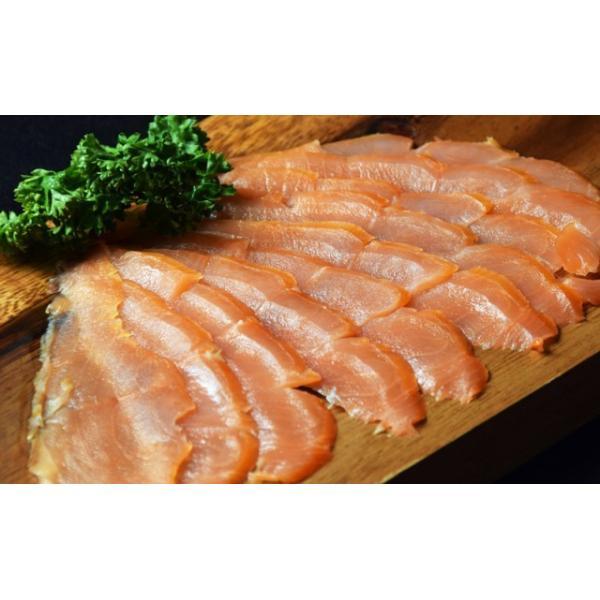 鮭 さけ サケ サーモン  塩だけで作った スモークサーモン  60g × 15P 計900g 冷凍 送料無料 tsukiji-ichiba2 02