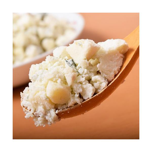 チーズ ブルーチーズ ゴルゴンゾーラ ピカンテ クランブル 大容量 1キロ 500x2袋 ナチュラルチーズ 送料無料 冷凍同梱可能|tsukiji-ichiba2|12