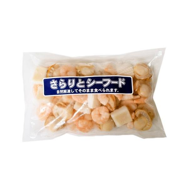 魚介 シーフードミックス さらりとシーフード いか ほたて えび 入り 1キロ 500g×2P 冷凍同梱可能|tsukiji-ichiba2|10