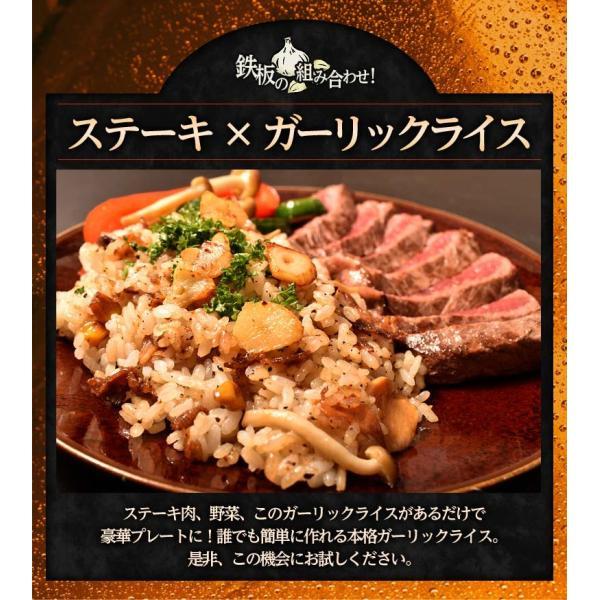ご飯のお供 ガーリックライスの素 100g×5P 肉 牛肉 ガーリックライス 冷凍 冷凍同梱可能 送料無料 tsukiji-ichiba2 05
