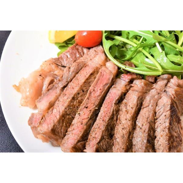 北のサーロインづくし 北海の黒 サーロイン ステーキ 2枚 計400g すき焼き 400g 焼肉用薄切り 2枚 計200g 合計1kg 冷凍 送料無料|tsukiji-ichiba2|04
