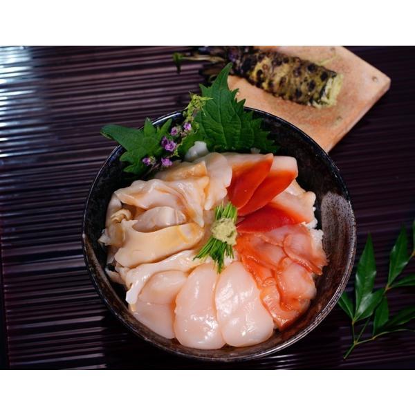 お刺身用 5種の貝づくし 各6枚 合計30枚×2パック ホタテ貝 つぶ貝 赤貝 北寄貝 石垣貝 ※冷凍 送料無料
