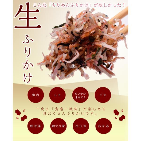 ふりかけ 送料無料 ポイント消化 ちりめん じゃこ 梅 しそ ちりめん 80g×3袋セット 代引き不可 同梱不可|tsukiji-ichiba2|05