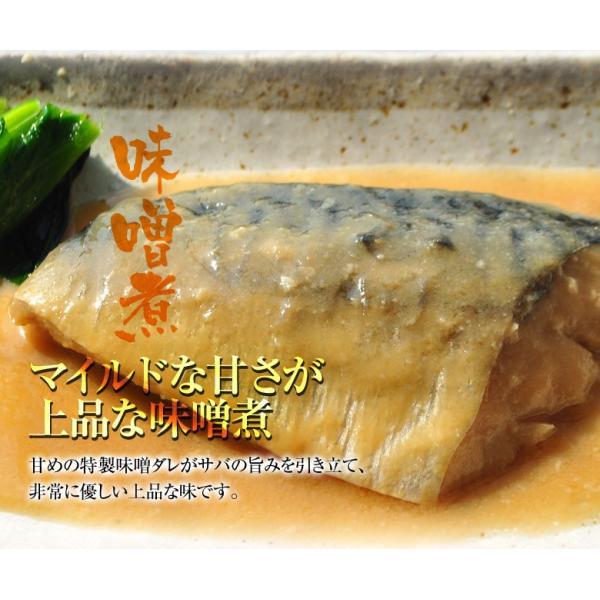 さば サバ 鯖 サバの味噌煮 95g×20パックセット 冷凍同梱不可 送料無料|tsukiji-ichiba2|07
