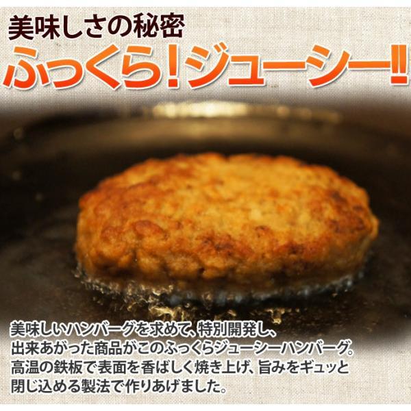 肉 ハンバーグ ジューシーハンバーグ 1袋 60g×25個入り 約1.5キロ 冷凍同梱不可 送料無料|tsukiji-ichiba2|05