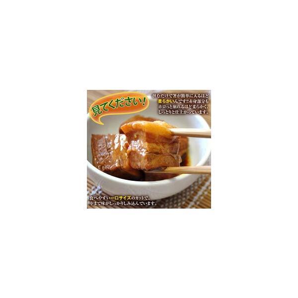 角煮 肉 豚肉 豚 業務用 じっくり煮込んだ 豚角煮 430g×3袋 おかず おつまみ 冷凍 同梱不可 送料無料|tsukiji-ichiba2|03