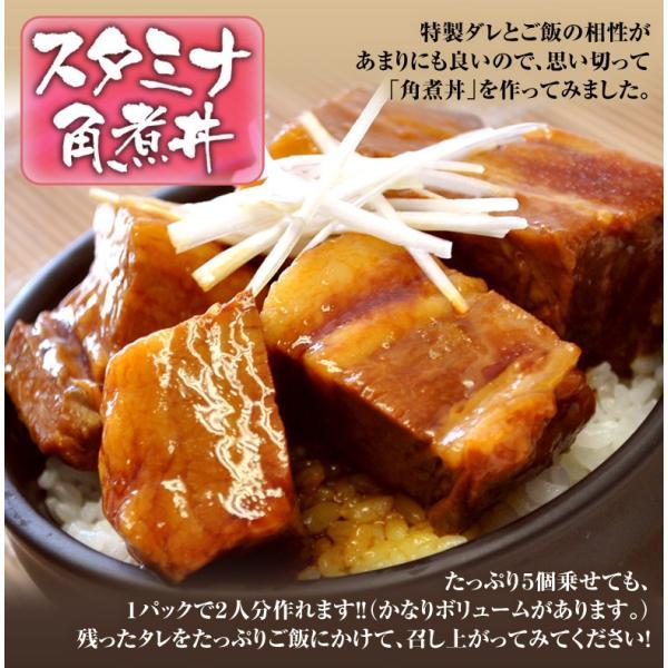 角煮 肉 豚肉 豚 業務用 じっくり煮込んだ 豚角煮 430g×3袋 おかず おつまみ 冷凍 同梱不可 送料無料|tsukiji-ichiba2|06