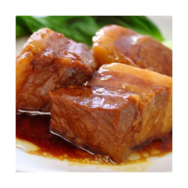 角煮 肉 豚肉 豚 業務用 じっくり煮込んだ 豚角煮 430g×3袋 おかず おつまみ 冷凍 同梱不可 送料無料|tsukiji-ichiba2|07