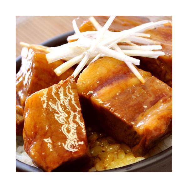角煮 肉 豚肉 豚 業務用 じっくり煮込んだ 豚角煮 430g×3袋 おかず おつまみ 冷凍 同梱不可 送料無料|tsukiji-ichiba2|08