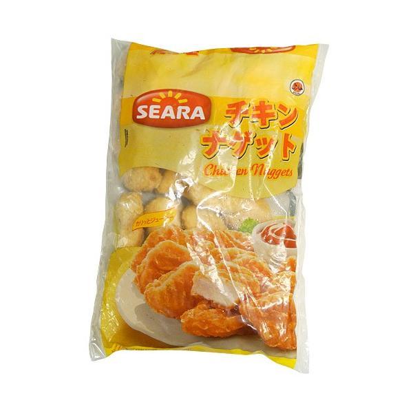 チキンナゲット 大容量 1キロ [500g×2袋セット] ナゲット チキン 鶏肉 お弁当 オードブル パーティー から揚げ 唐揚げ 冷凍 [冷凍同梱可能]|tsukiji-ichiba2|02