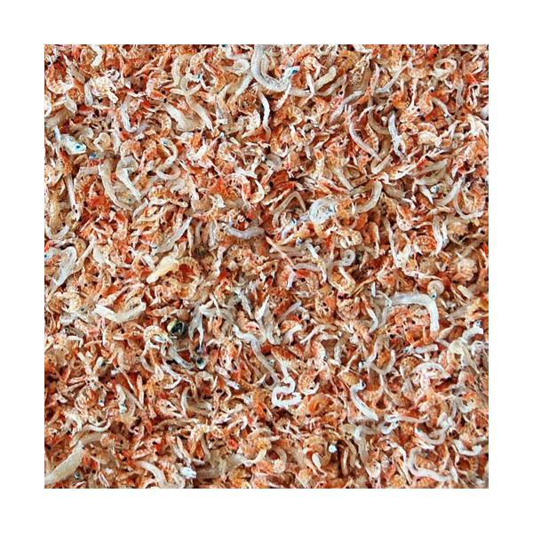 ポイント消化 国内産 天然 海老ちりめん 50g× 3袋 えび エビ じゃこ ふりかけ  国産 送料無料【ゆうメール】|tsukiji-ichiba2|04