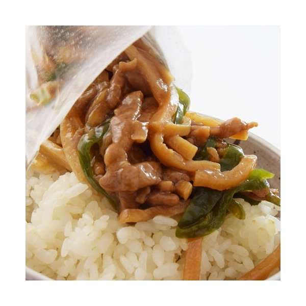 チンジャオロース 陳建一監修 青椒肉絲丼 チンジャオロース丼の具 120g×3P 冷凍同梱可能 中華料理 レトルト あたためるだけ|tsukiji-ichiba2|09