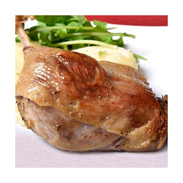 かも 鴨 カモ 鴨肉 鴨のコンフィ 2本 (200g×2パック) フレンチ 鴨肉 温めるだけ 冷凍 同梱可能|tsukiji-ichiba2|02