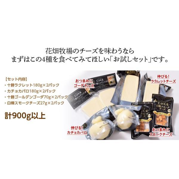 チーズ 花畑牧場 花畑牧場のお試しチーズセット 4種8個 ラクレット カチョカバロ ゴーダ スモークチーズ 冷蔵 同梱不可 送料無料 tsukiji-ichiba2 03