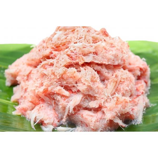 紅ズワイガニ ずわいがに ほぐし身 1kg むき身 かにフレーク カニフレーク かに カニ 蟹 tsukiji-ousama 02