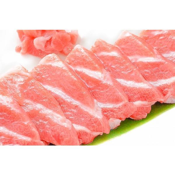 (マグロ まぐろ 鮪) 本まぐろ 大トロ 1kg (本マグロ 本鮪 刺身)|tsukiji-ousama|07