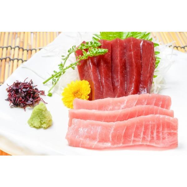 (マグロ まぐろ 鮪) 本まぐろ 中トロ 200g&赤身200gセット (本マグロ 本鮪 刺身)|tsukiji-ousama|03