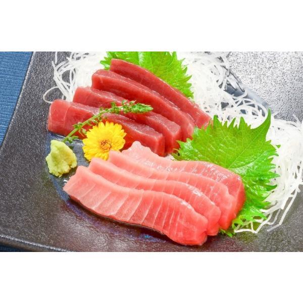(マグロ まぐろ 鮪) 本まぐろ 中トロ 200g&赤身200gセット (本マグロ 本鮪 刺身)|tsukiji-ousama|04