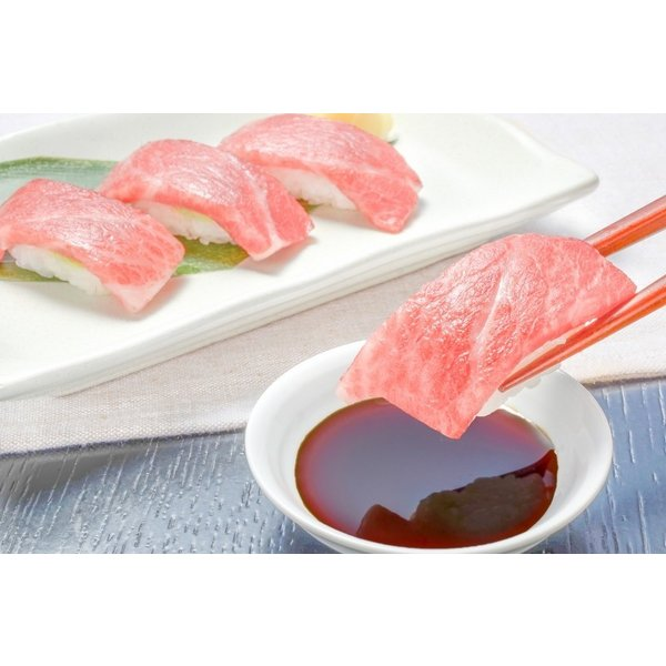 (マグロ まぐろ 鮪) 本まぐろ 大トロ 200g&赤身200gセット (本マグロ 本鮪 刺身) tsukiji-ousama 10
