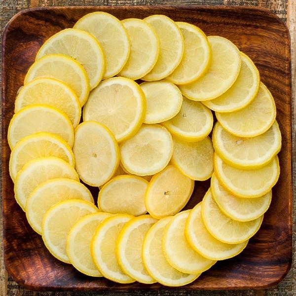 冷凍レモン スライス 500g×2パック 合計1kg 輪切り カット済み レモン スライス レモンサワー レモネード フルーツジュース はちみつレモン レモンティー|tsukiji-ousama|04