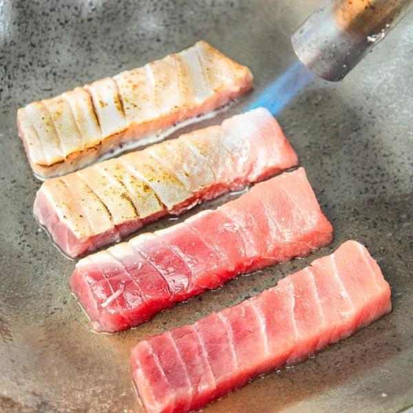 (マグロ まぐろ 鮪) ミナミマグロ 大トロ 中トロ 各200g豪華2色セット (南まぐろ 南マグロ 南鮪 インドまぐろ 刺身)|tsukiji-ousama|18