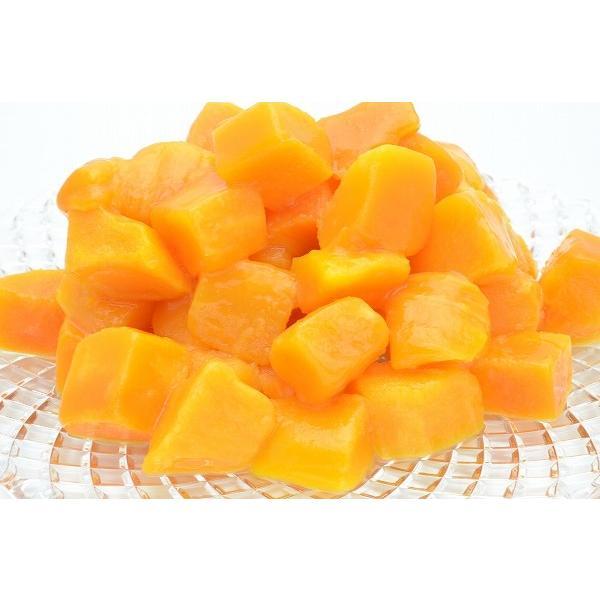 マンゴー 冷凍マンゴー 合計1kg 500g×2パック カットマンゴー 冷凍フルーツ ヨナナス|tsukiji-ousama|02
