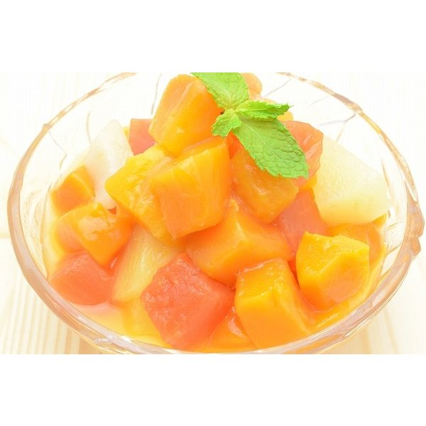 マンゴー 冷凍マンゴー 合計2kg 500g×4パック カットマンゴー 冷凍フルーツ ヨナナス|tsukiji-ousama|06