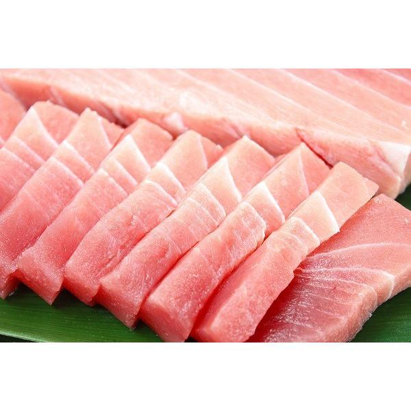メバチマグロ メバチまぐろ 中トロ(上)1kg (まぐろ マグロ 鮪 刺身) tsukiji-ousama 04