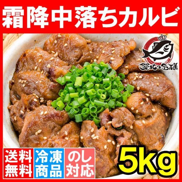 中落ち カルビ 牛カルビ 焼肉 合計 5kg 500g×10パック 業務用 味付け 牛肉 肉 お肉 熟成 鉄板焼き ステーキ BBQ ギフト