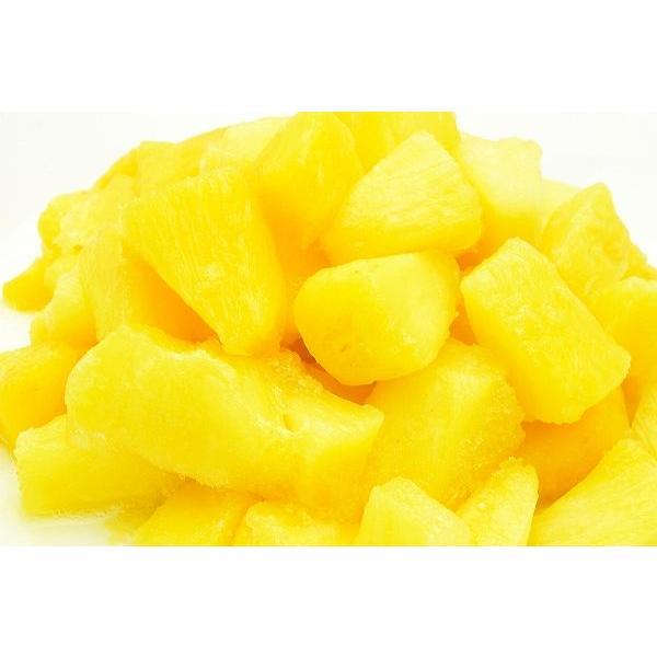 パイナップル 冷凍 パイン 2kg 500g×4パック カットパイナップル 冷凍フルーツ ヨナナス