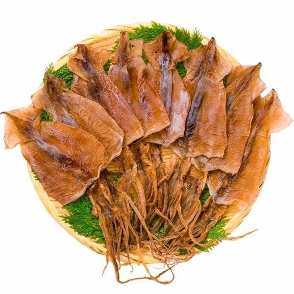 するめいか スルメイカ 8枚入り×2パック 北海道産 無塩 無添加 干物 するめ スルメ ポイント 消化 食品 メール便|tsukiji-ousama|04
