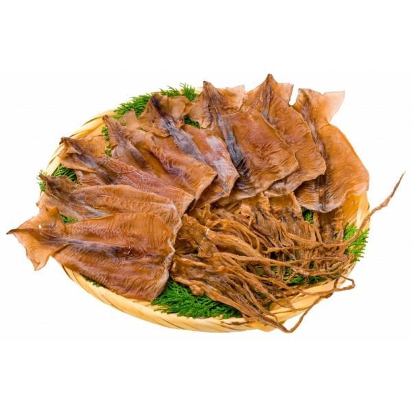 するめいか スルメイカ 8枚入り×2パック 北海道産 無塩 無添加 干物 するめ スルメ ポイント 消化 食品 メール便|tsukiji-ousama|05