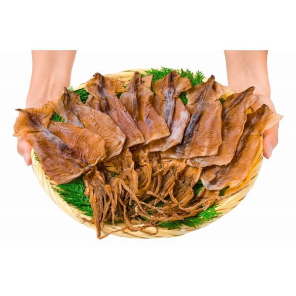 するめいか スルメイカ 8枚入り×2パック 北海道産 無塩 無添加 干物 するめ スルメ ポイント 消化 食品 メール便|tsukiji-ousama|06