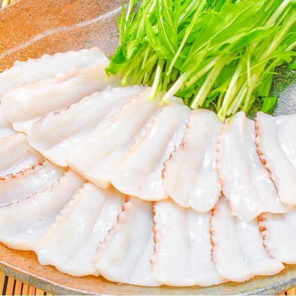 生たこ(たこしゃぶ 寿司ネタ用スライス20枚)(タコ たこ 蛸)|tsukiji-ousama|11