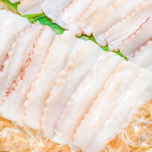 生たこ(たこしゃぶ 寿司ネタ用スライス20枚)(タコ たこ 蛸)|tsukiji-ousama|04