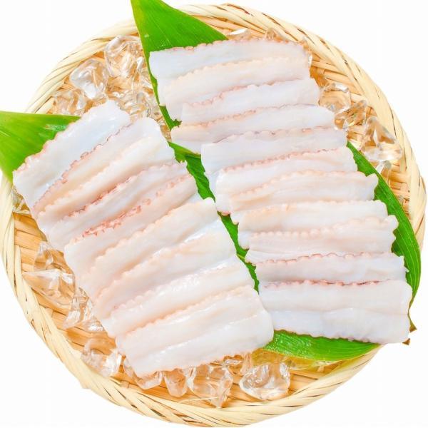 生たこ(たこしゃぶ 寿司ネタ用スライス20枚)(タコ たこ 蛸)|tsukiji-ousama|05