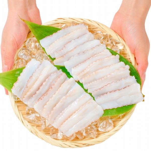 生たこ(たこしゃぶ 寿司ネタ用スライス20枚)(タコ たこ 蛸)|tsukiji-ousama|07