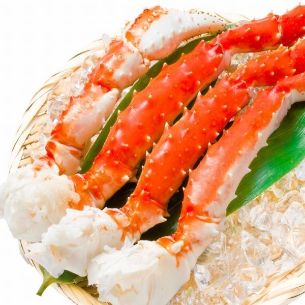 タラバガニ たらばがに 特大 極太 5L 1kg ×2肩 セット 合計 2kg 前後 足 脚 肩 セクション 正規品 かに カニ 蟹 ボイル 冷凍 かに鍋 焼きガニ|tsukiji-ousama|02