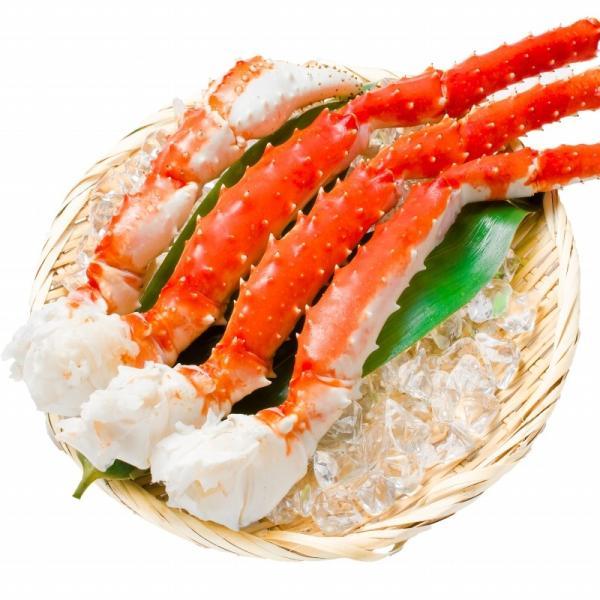 タラバガニ たらばがに 特大 極太 5L 1kg ×2肩 セット 合計 2kg 前後 足 脚 肩 セクション 正規品 かに カニ 蟹 ボイル 冷凍 かに鍋 焼きガニ|tsukiji-ousama|03