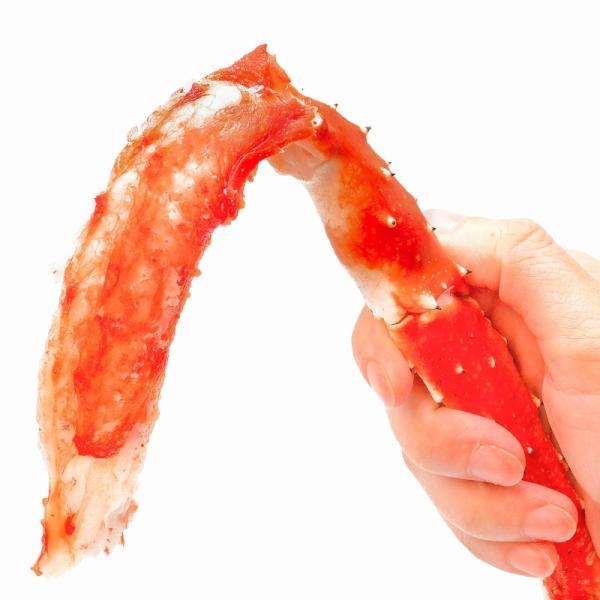 タラバガニ たらばがに 特大 極太 5L 1kg ×2肩 セット 合計 2kg 前後 足 脚 肩 セクション 正規品 かに カニ 蟹 ボイル 冷凍 かに鍋 焼きガニ|tsukiji-ousama|05