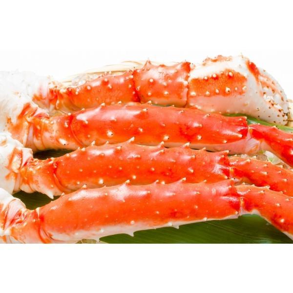 タラバガニ たらばがに 特大 極太 5L 1kg ×2肩 セット 合計 2kg 前後 足 脚 肩 セクション 正規品 かに カニ 蟹 ボイル 冷凍 かに鍋 焼きガニ|tsukiji-ousama|06