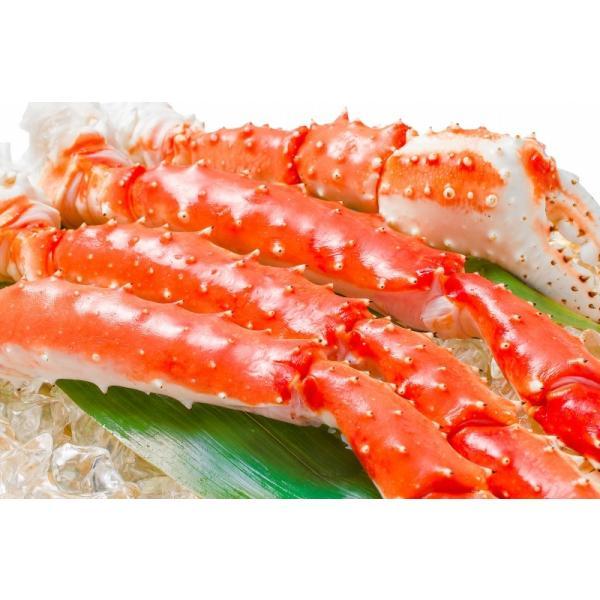 タラバガニ たらばがに 特大 極太 5L 1kg ×2肩 セット 合計 2kg 前後 足 脚 肩 セクション 正規品 かに カニ 蟹 ボイル 冷凍 かに鍋 焼きガニ|tsukiji-ousama|07