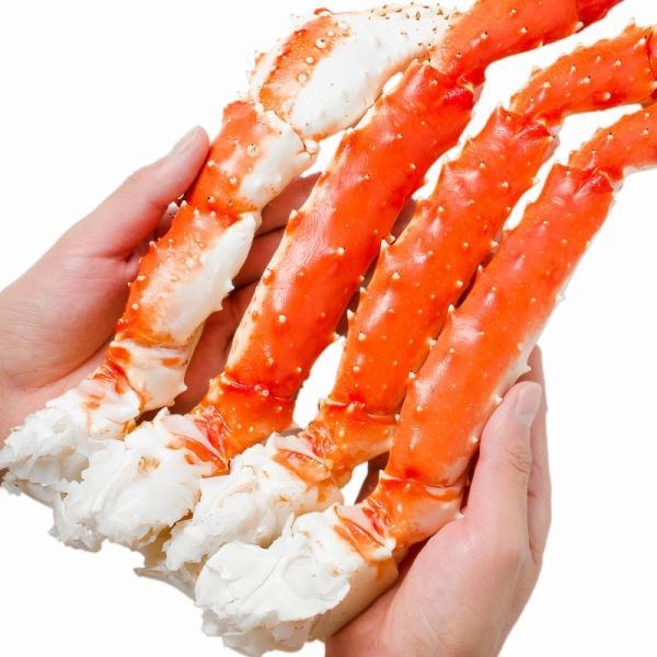 タラバガニ たらばがに 特大 極太 5L 1kg ×2肩 セット 合計 2kg 前後 足 脚 肩 セクション 正規品 かに カニ 蟹 ボイル 冷凍 かに鍋 焼きガニ|tsukiji-ousama|08