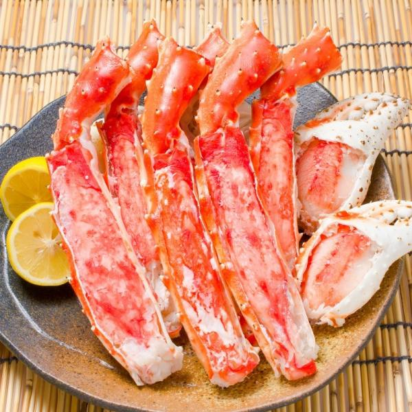 タラバガニ たらばがに 特大 極太 5L 1kg 足 脚 肩 セクション 正規品 かに カニ 蟹 ボイル 冷凍 かに鍋 焼きガニ (BBQ バーベキュー)|tsukiji-ousama|04