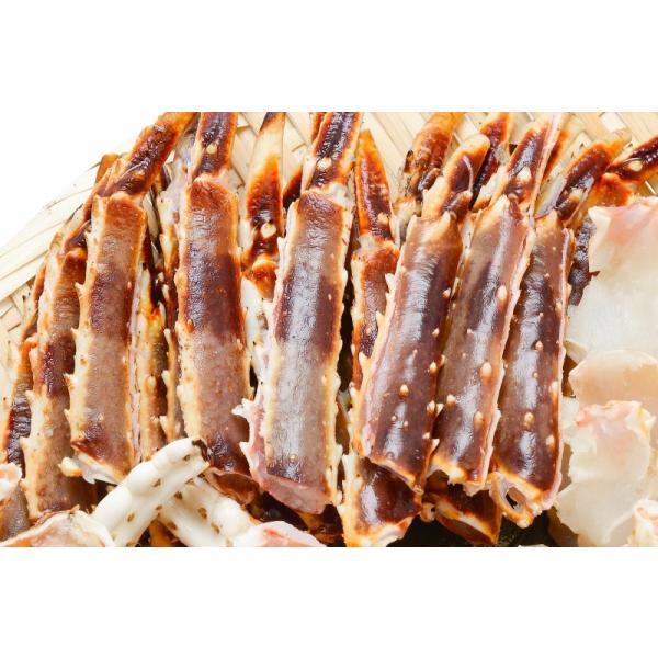 (訳あり 訳アリ わけあり ワケアリ)鍋だし用 生タラバガニ たらばがに 1kg カット済み 切り落とし 端材 加熱用 かに鍋 焼きガニ 鍋セット かに カニ 蟹 tsukiji-ousama 05