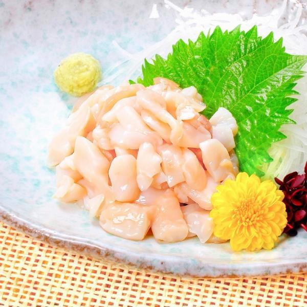(訳あり わけあり ワケあり)つぶ貝 お刺身用つぶ貝切り落とし500g むき身|tsukiji-ousama|03