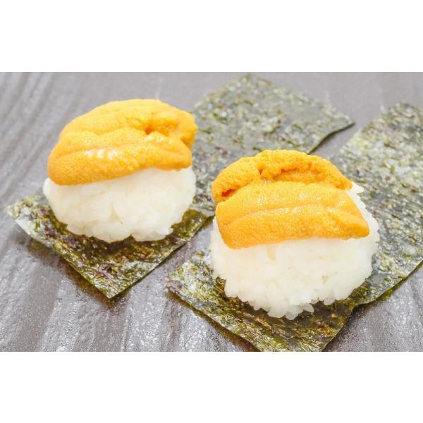 生ウニ 生うに 冷凍 無添加 天然 1kg 100g×10パック(ウニ うに 雲丹)|tsukiji-ousama|10